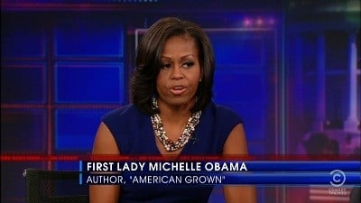 The Daily Show with Trevor Noah Season 17 :Episode 104  Michelle Obama