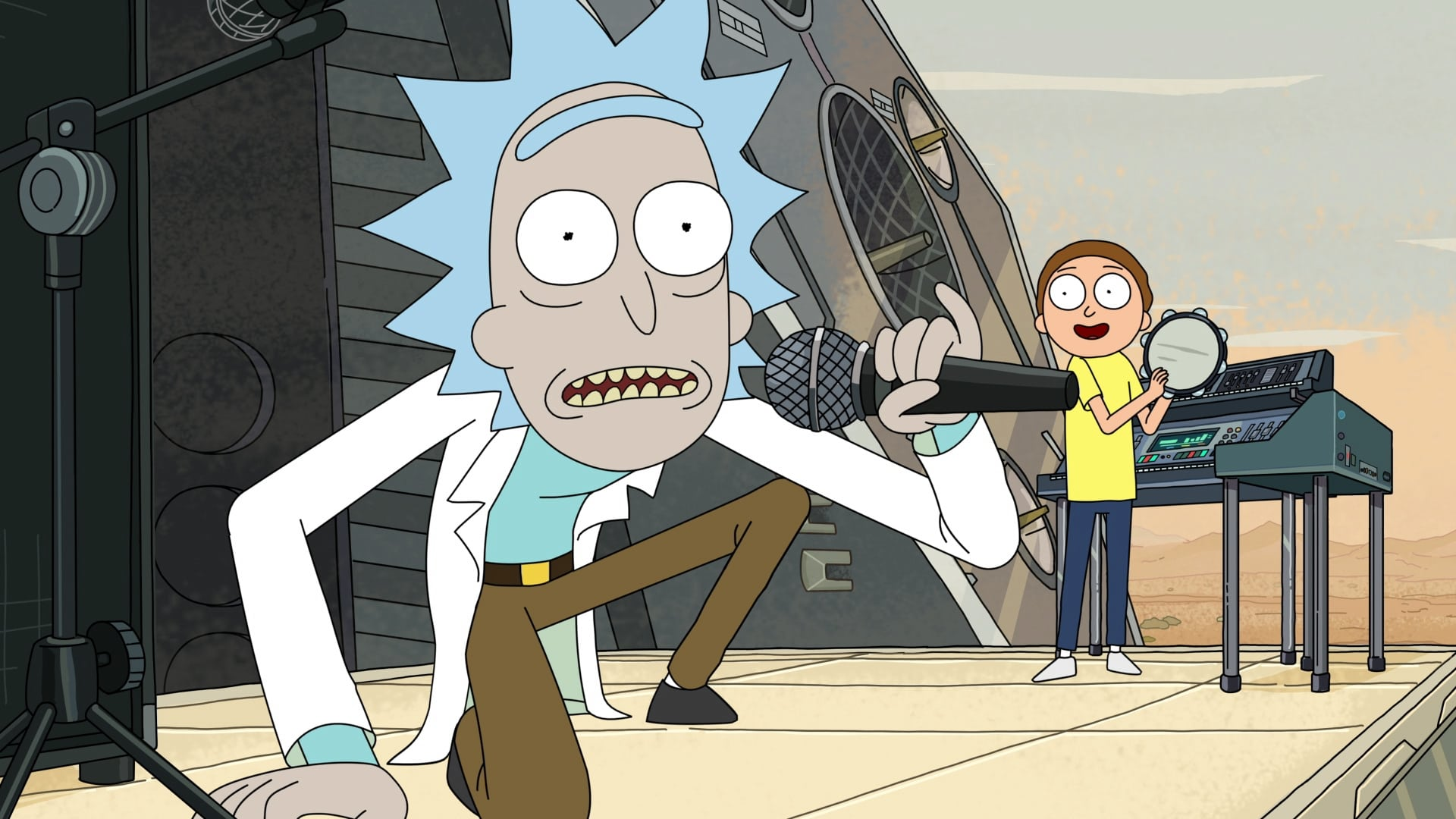 Rick and Morty Season 2 :Episode 5  Get Schwifty