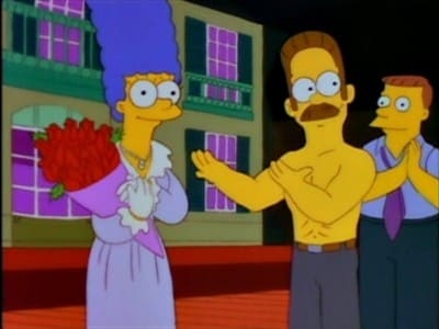 The Simpsons Season 4 :Episode 2  A Streetcar Named Marge