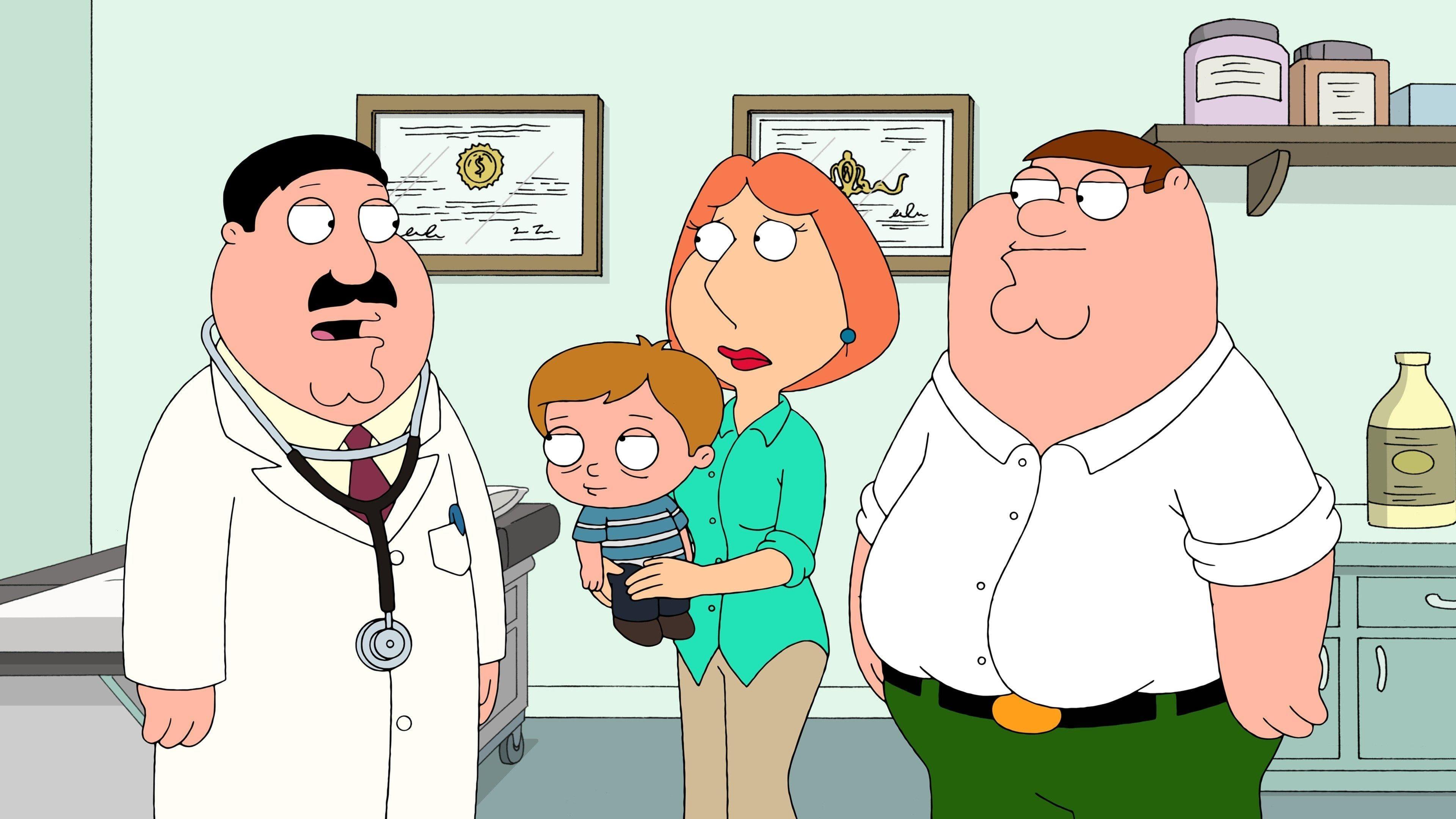 Family Guy Season 10 :Episode 12  Livin' on a Prayer