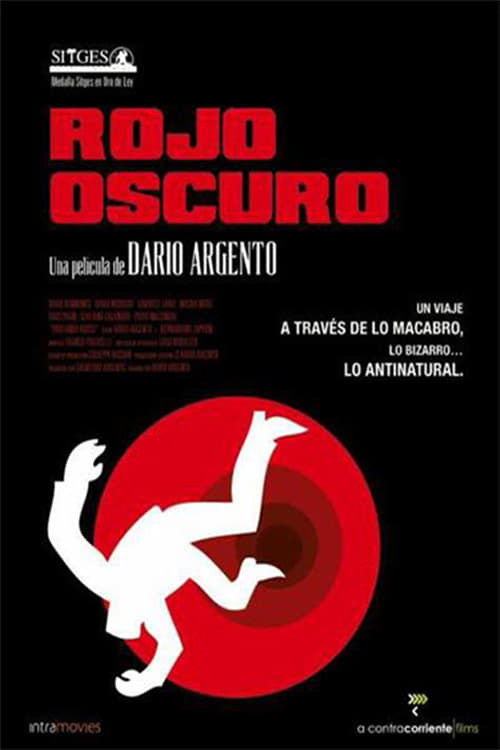 Póster Rojo oscuro
