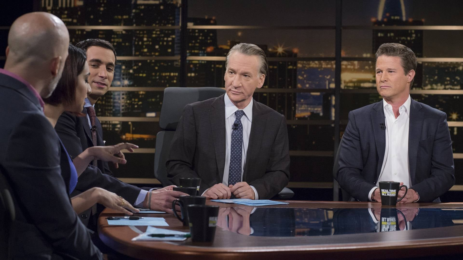 Real Time with Bill Maher Season 16 :Episode 8  Beto O'Rourke; Pete Dominick, Nayyera Haq And Andrew Ross Sorkin; Billy Bush