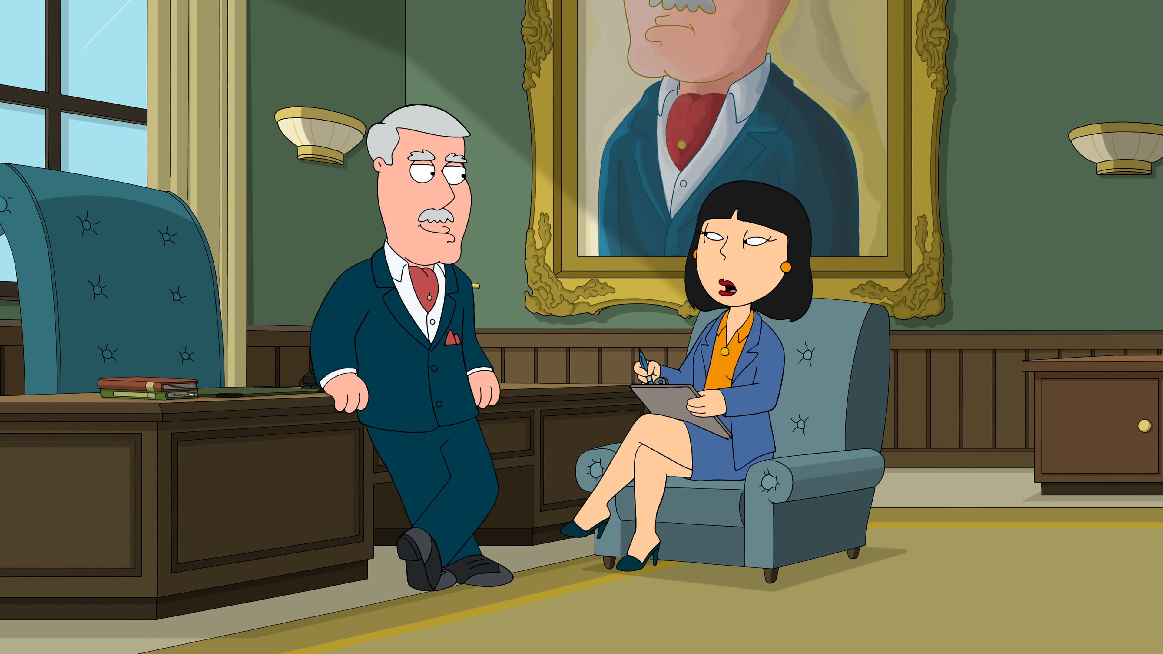 Family Guy Season 15 :Episode 8  Carter and Tricia