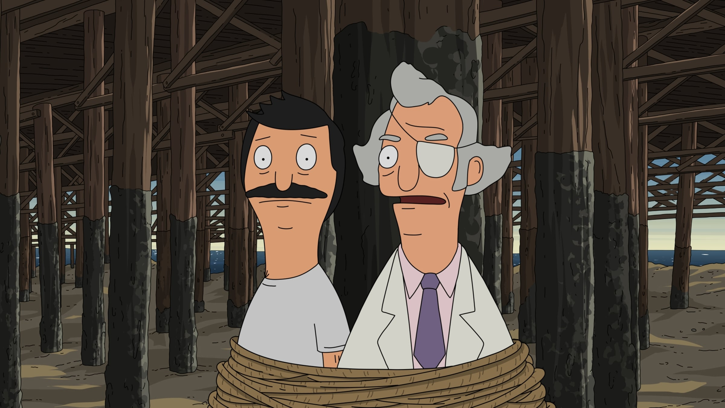Bob's Burgers - Season 4 Episode 22 : World Wharf II: The Wharfening (or How Bob Saves/Destroys the Town - Part II)