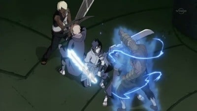 Naruto Shippūden Season 10 :Episode 202  Racing Lightning