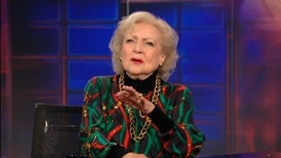 The Daily Show with Trevor Noah - Season 17 Episode 26 : Betty White