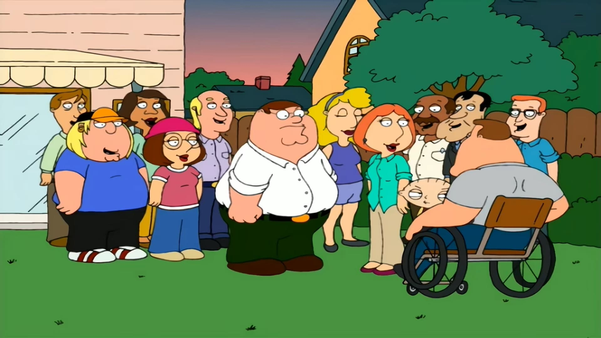 Family Guy - Season 1 Episode 5 : A Hero Sits Next Door