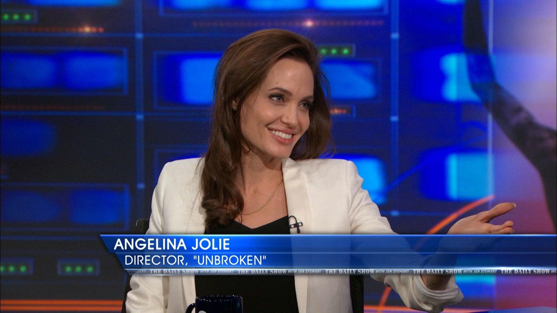 The Daily Show with Trevor Noah Season 20 :Episode 32  Angelina Jolie