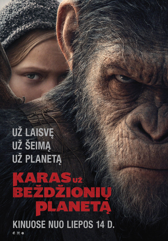 Karas už beždžionių planetą