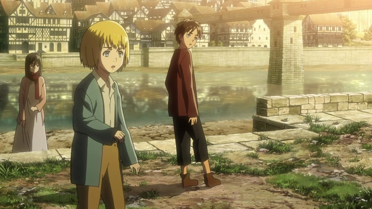 Attack on Titan Season 1 :Episode 1  To You, in 2000 Years: The Fall of Shiganshina, Part 1