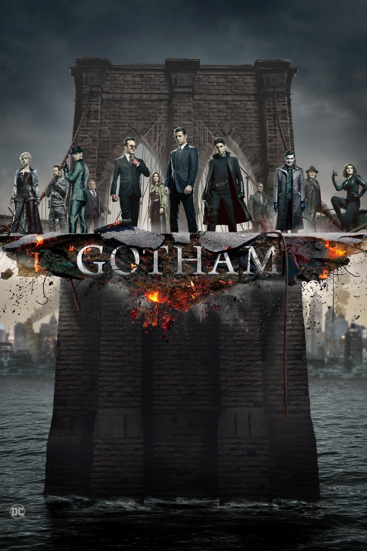 Gotham 5ª Temporada (2019) Torrent – WEB-DL 720p e 1080p Dublado / Dual Áudio e Legendado Download