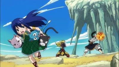 Fairy Tail Season 3 :Episode 9  Fire Dragon vs. Flame God