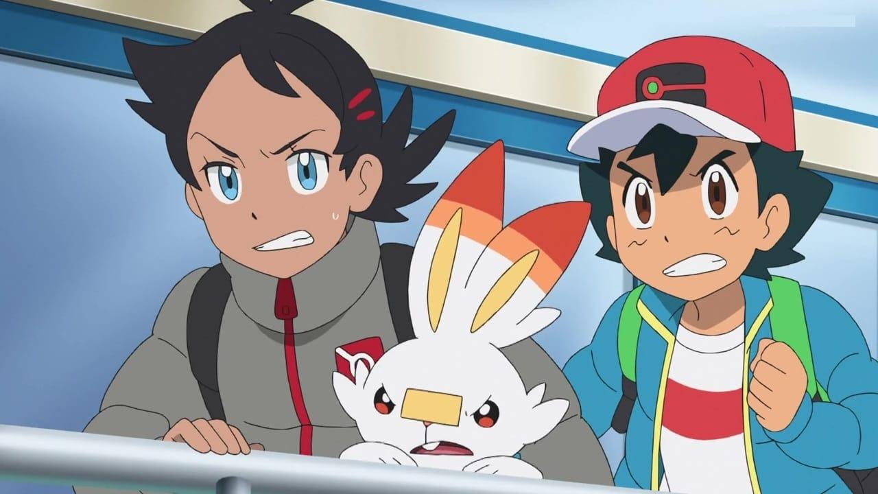 Pokémon Season 23 :Episode 8  The Sinnoh Iceberg Race!