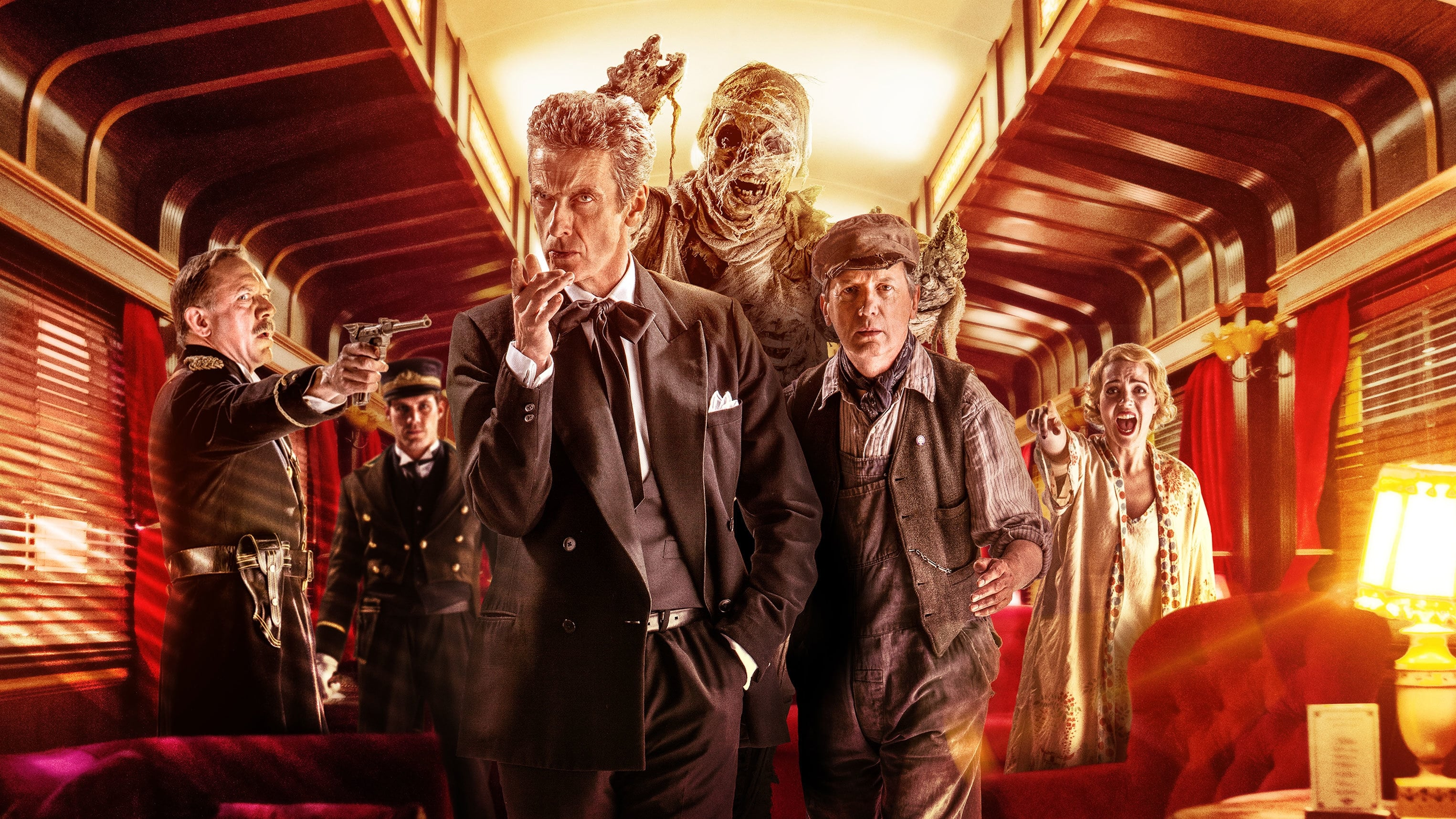 Doctor Who Season 8 :Episode 8  Mummy on the Orient Express