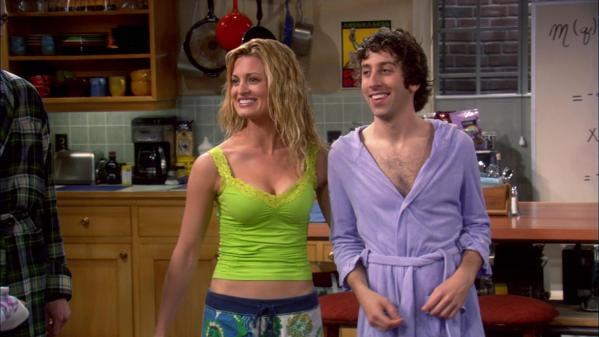 The Big Bang Theory Season 1 :Episode 7  The Dumpling Paradox