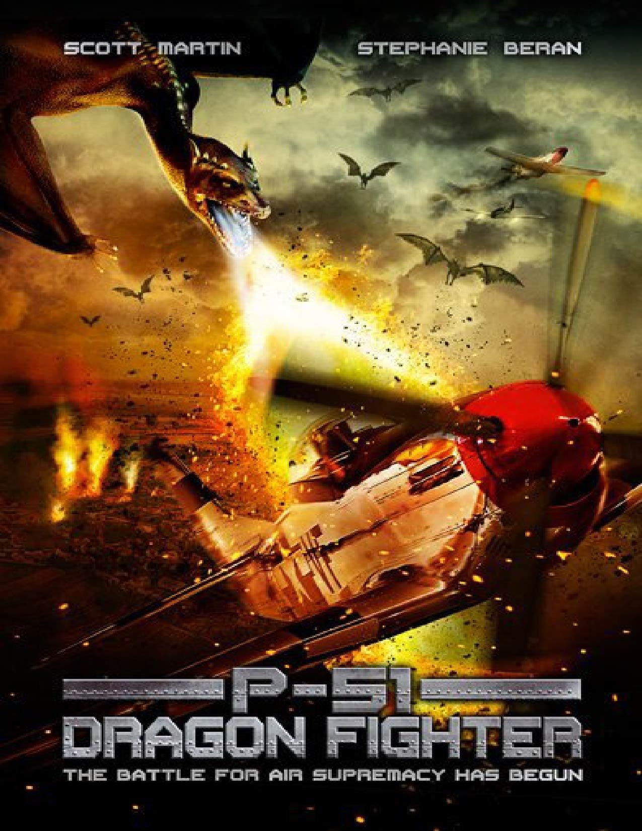 P-51 Dragon Fighter | Multi | 1CD | DVDRiP | 2014