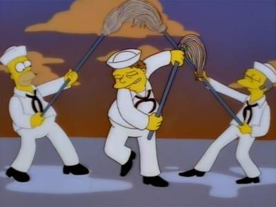 The Simpsons Season 9 :Episode 19  Simpson Tide