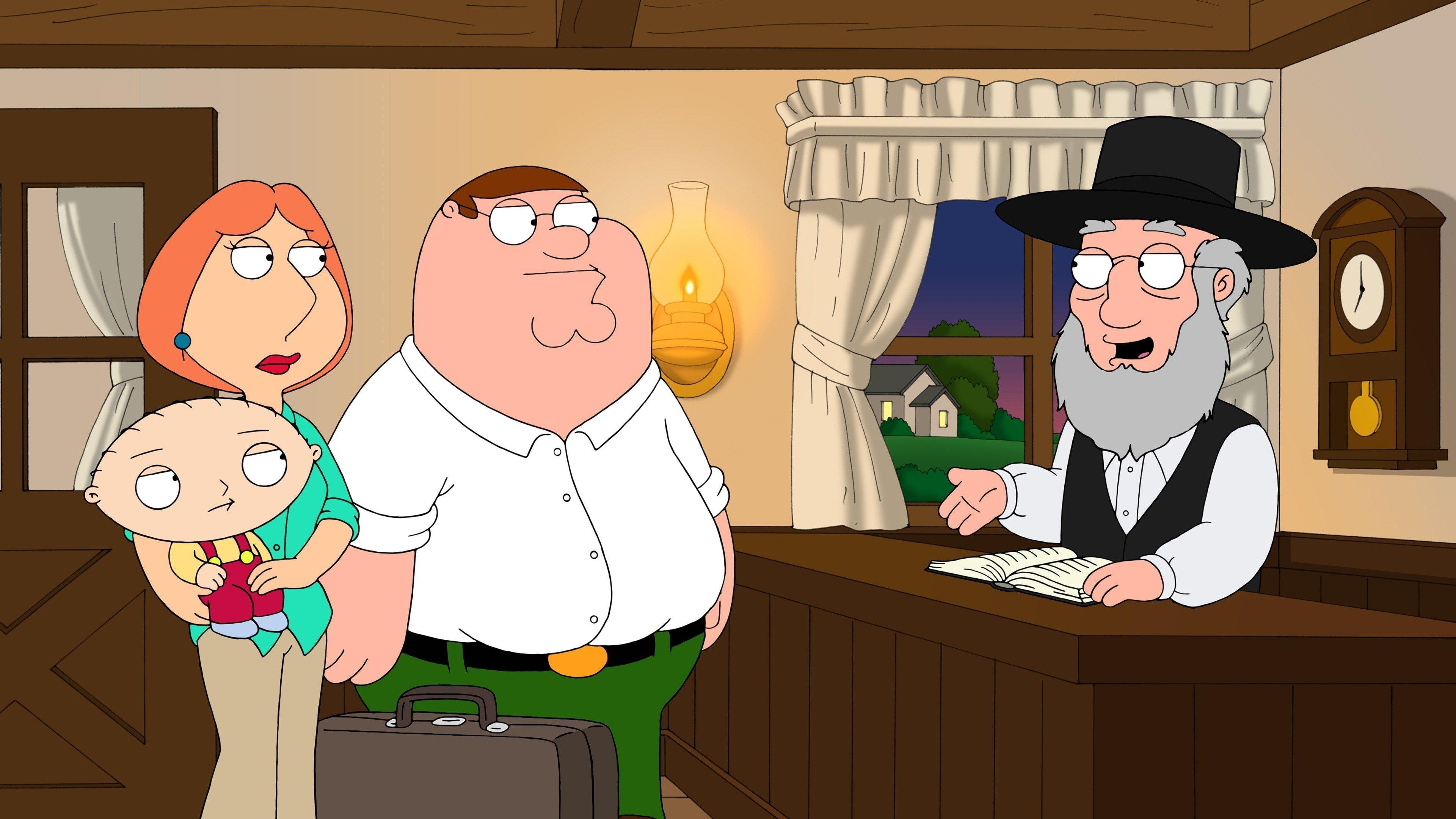 Family Guy Season 10 :Episode 7  Amish Guy
