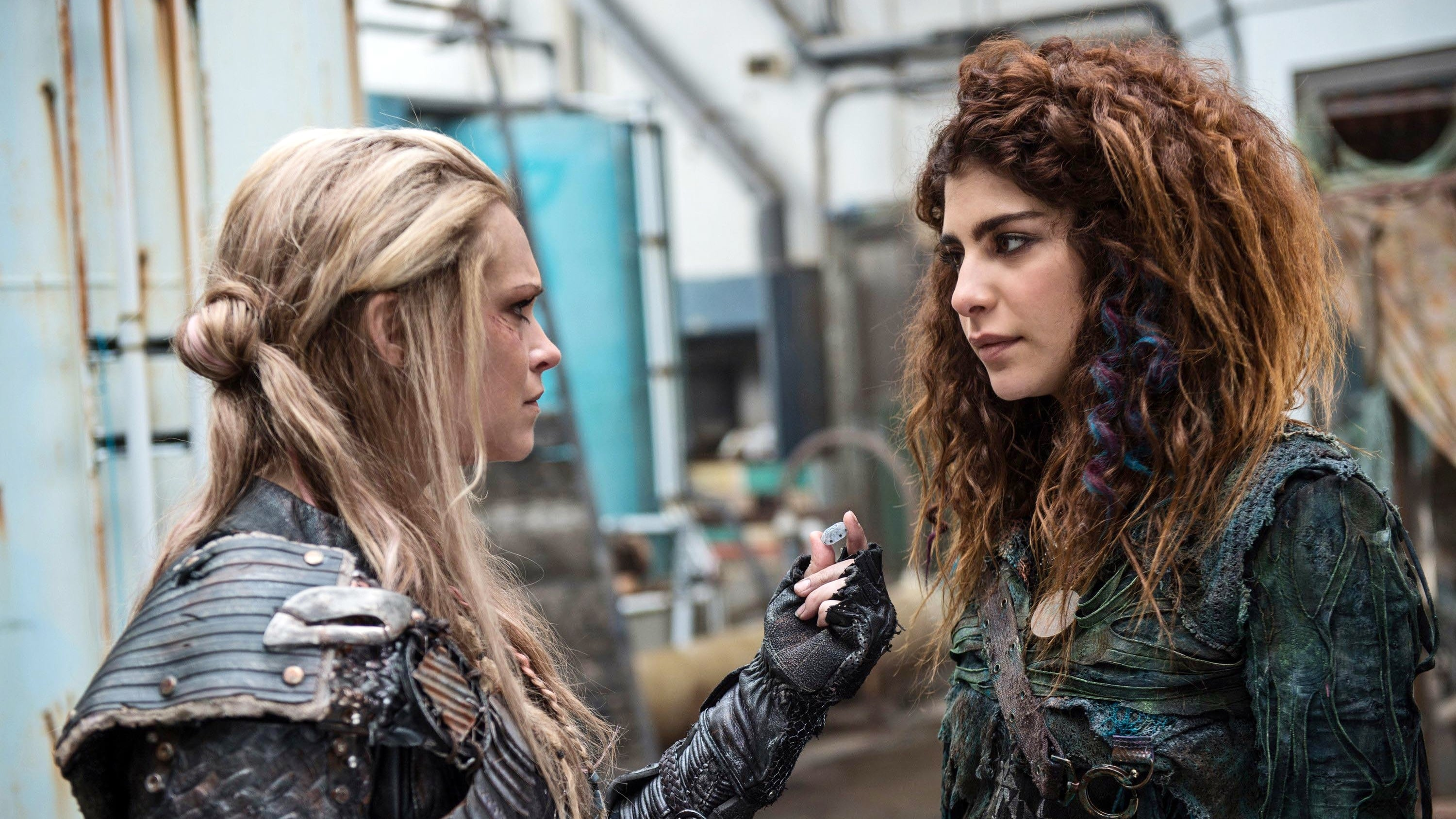 The 100 Season 3 :Episode 14  Red Sky at Morning
