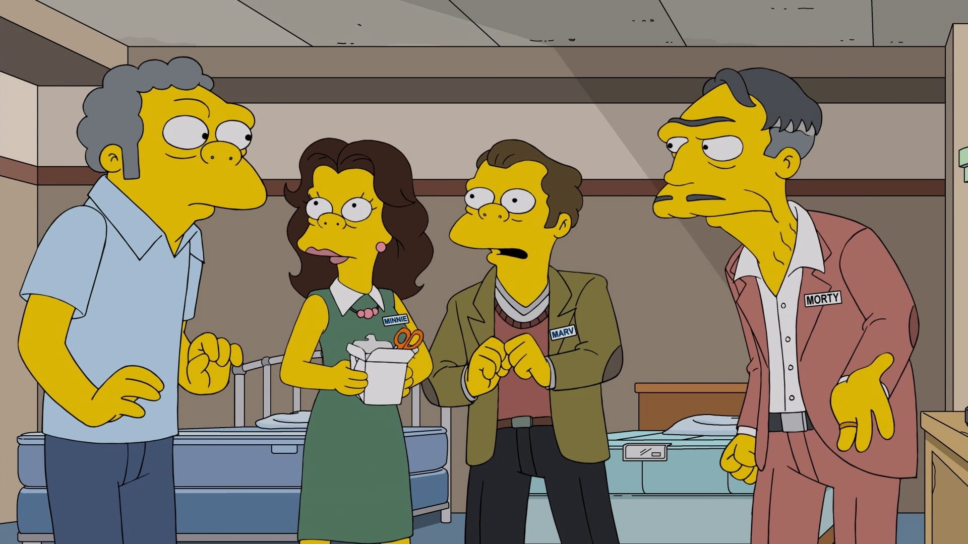 Die Simpsons Season 29 :Episode 16  Der Matratzenkönig