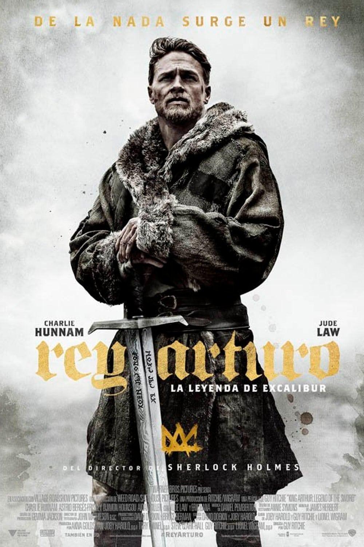 Póster Rey Arturo: La leyenda de Excalibur