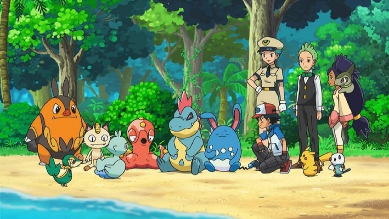 Pokémon Season 16 :Episode 32  The Pirates of Decolore!