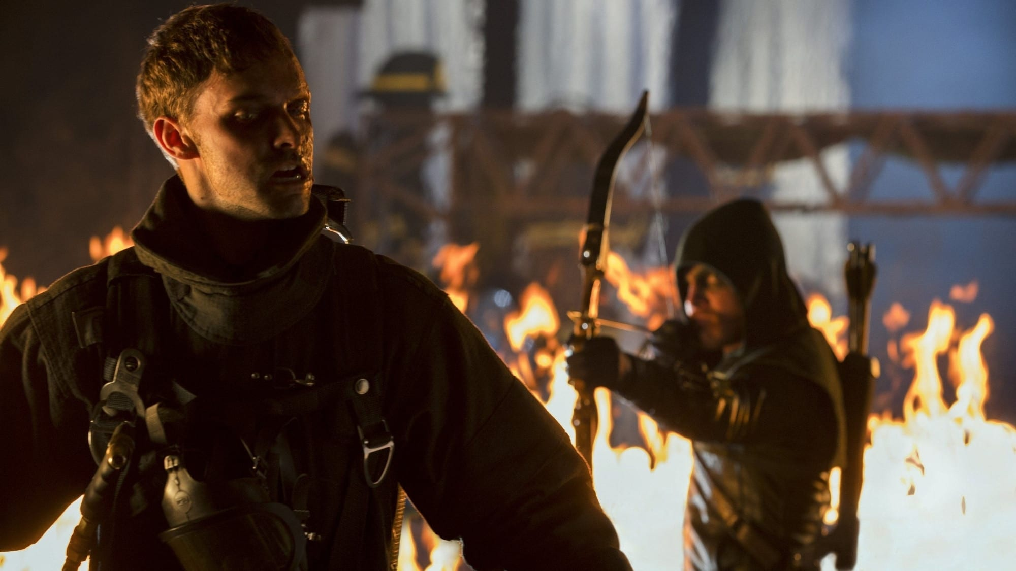 Arrow Season 1 :Episode 10  Burned