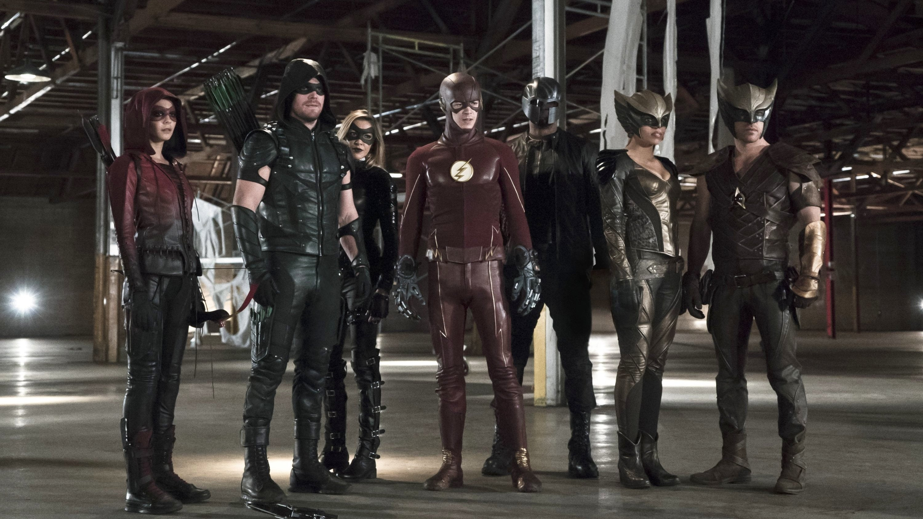 Arrow - Season 4 Episode 8 : Legends of Yesterday (2)