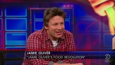 The Daily Show with Trevor Noah Season 16 :Episode 48  Jamie Oliver