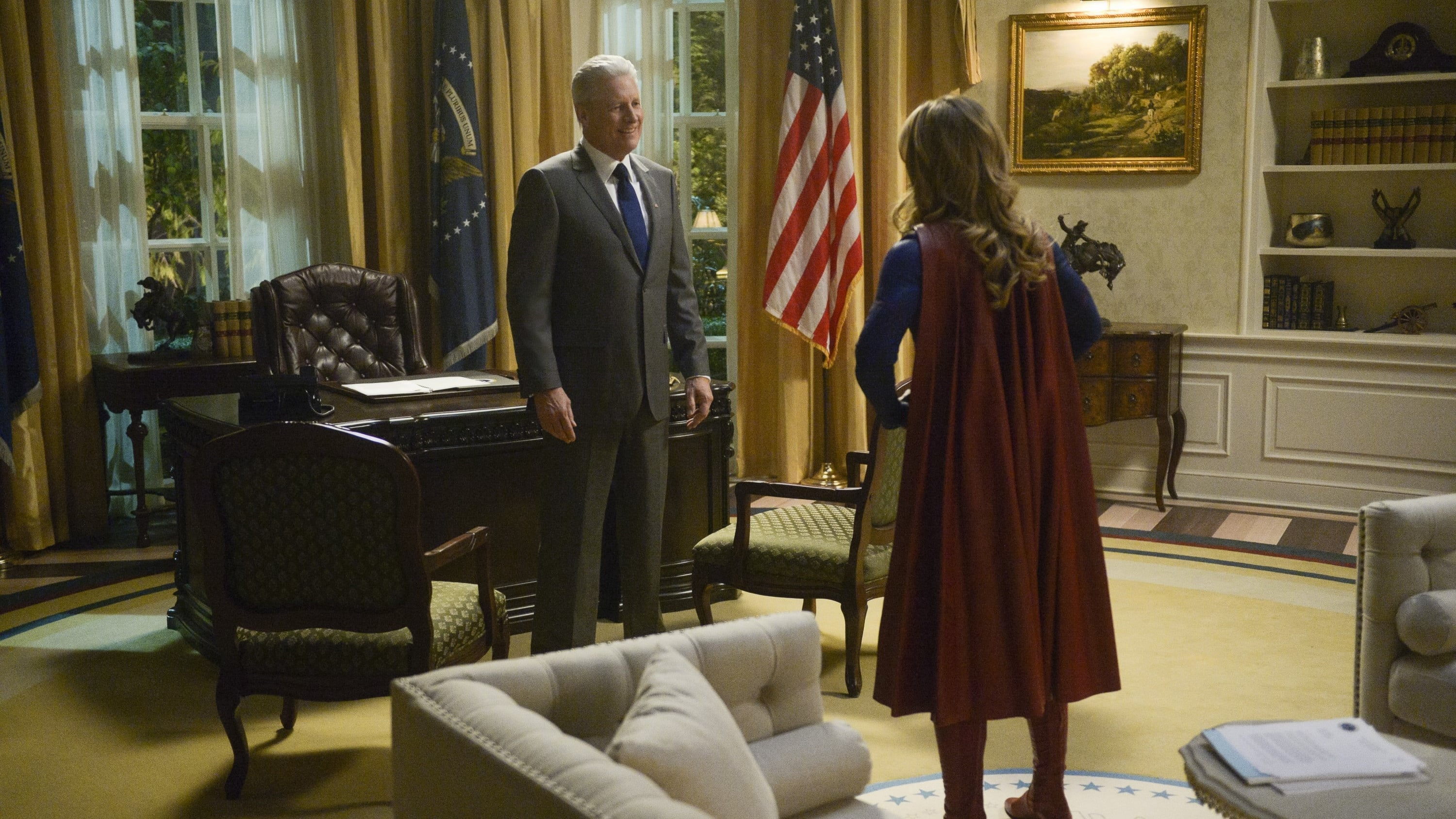 Supergirl Season 4 :Episode 13  What's So Funny About Truth, Justice, and the American Way?