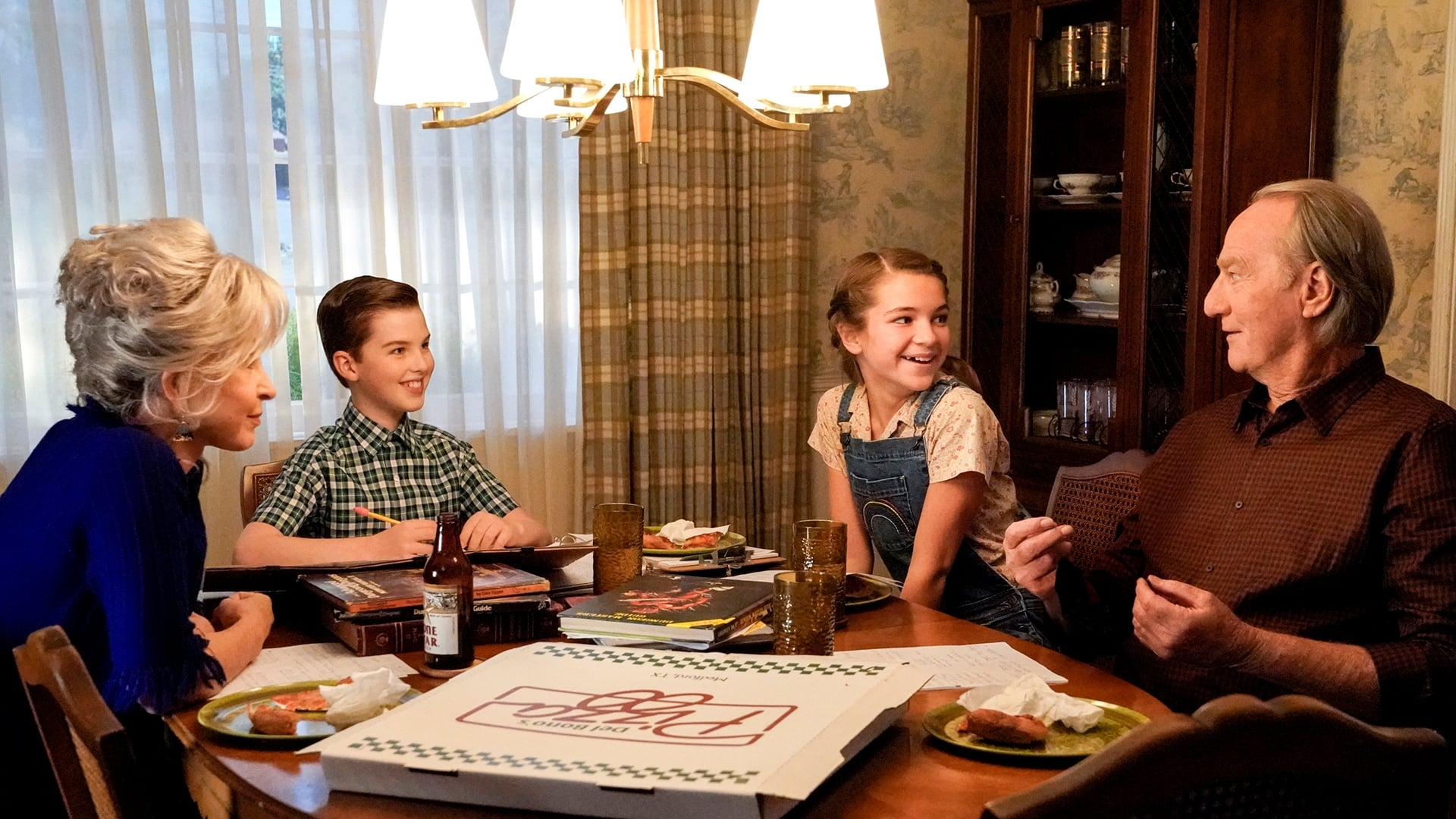 Young Sheldon - Season 4 Episode 5 : A Musty Crypt and a Stick to Pee On