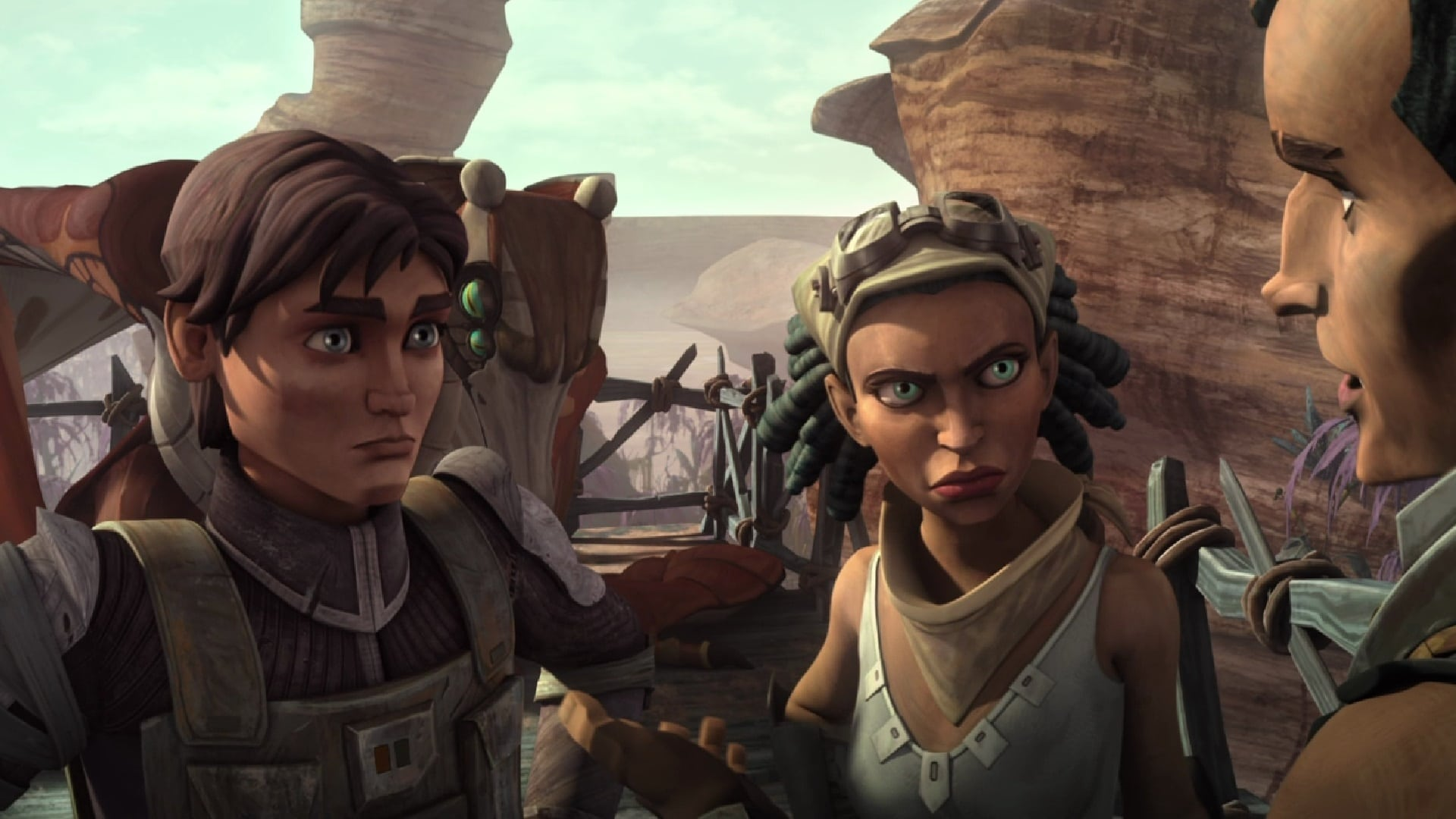 Star Wars: The Clone Wars - Season 5 Episode 5 : Tipping Points