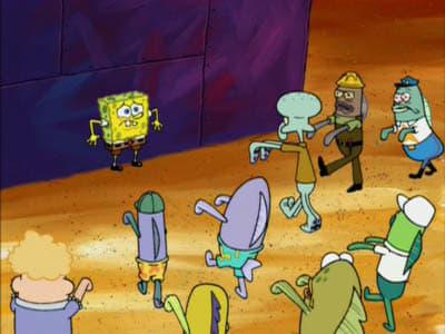 SpongeBob SquarePants Season 4 :Episode 24  Once Bitten