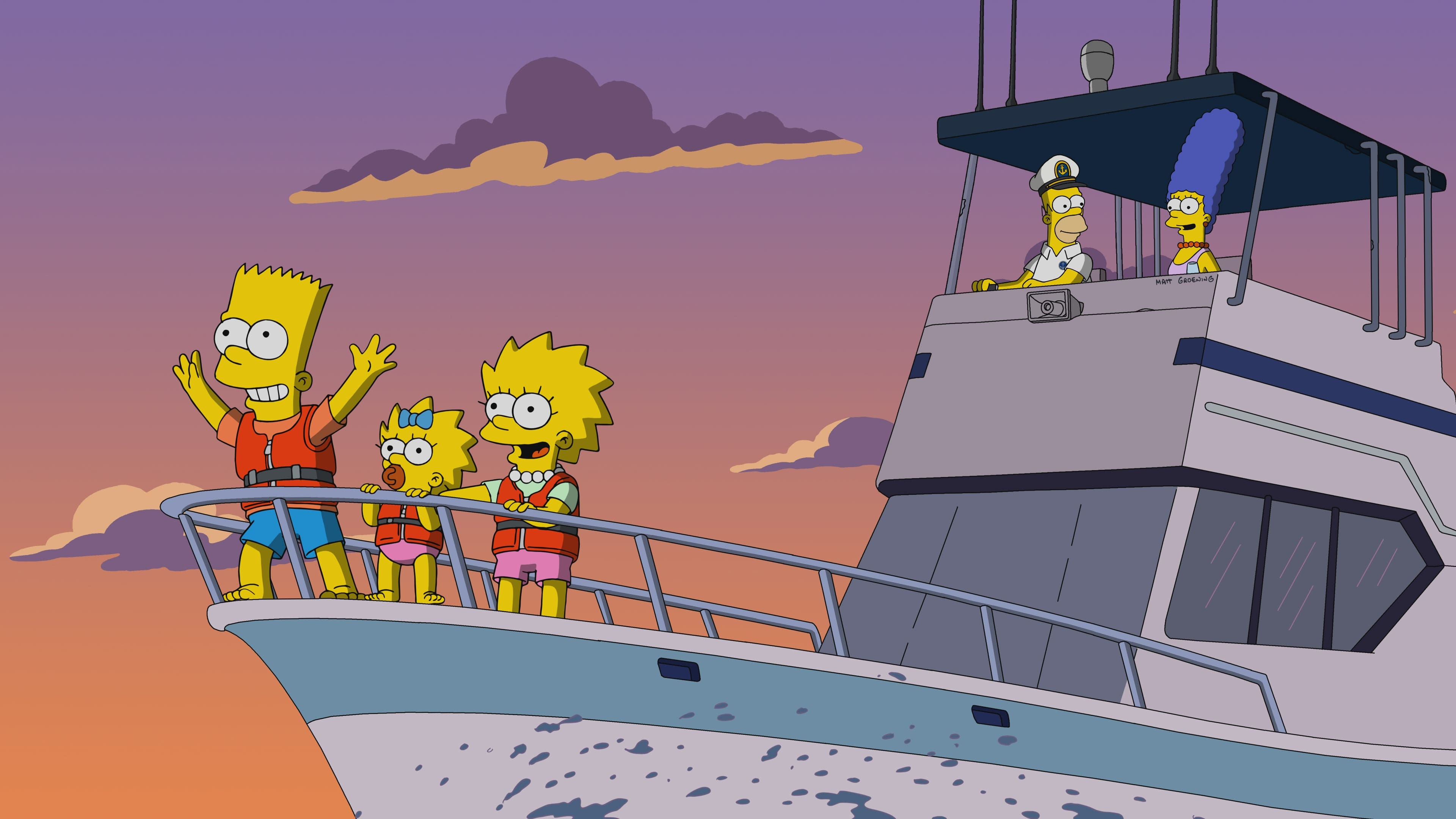 The Simpsons Season 31 :Episode 5  Gorillas on the Mast