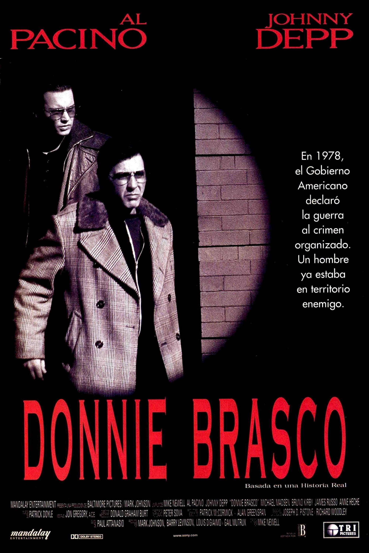 Póster Donnie Brasco