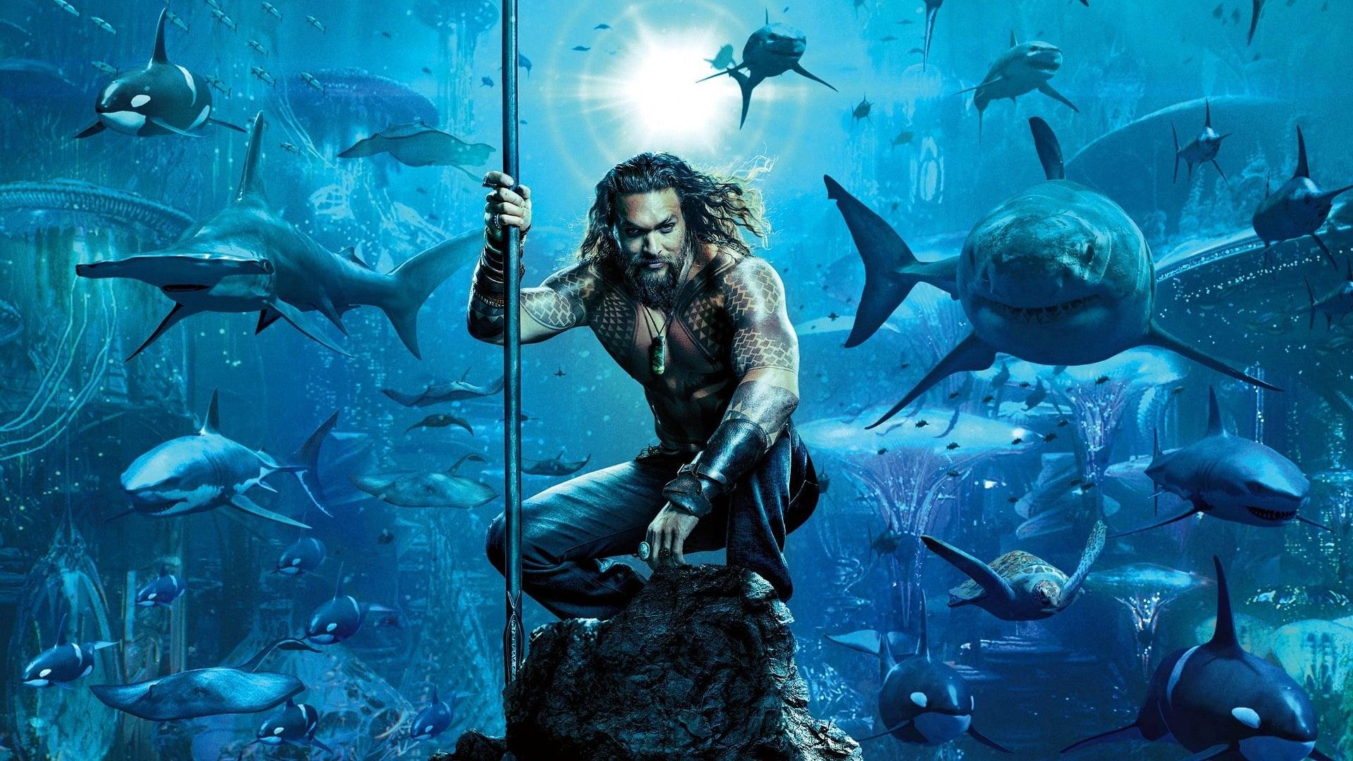 Contraportada Aquaman