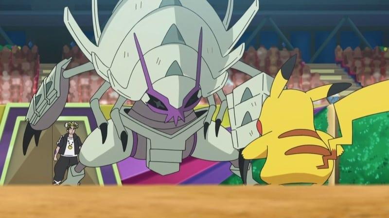 Pokémon Season 22 :Episode 45  The Wisdom Not to Run