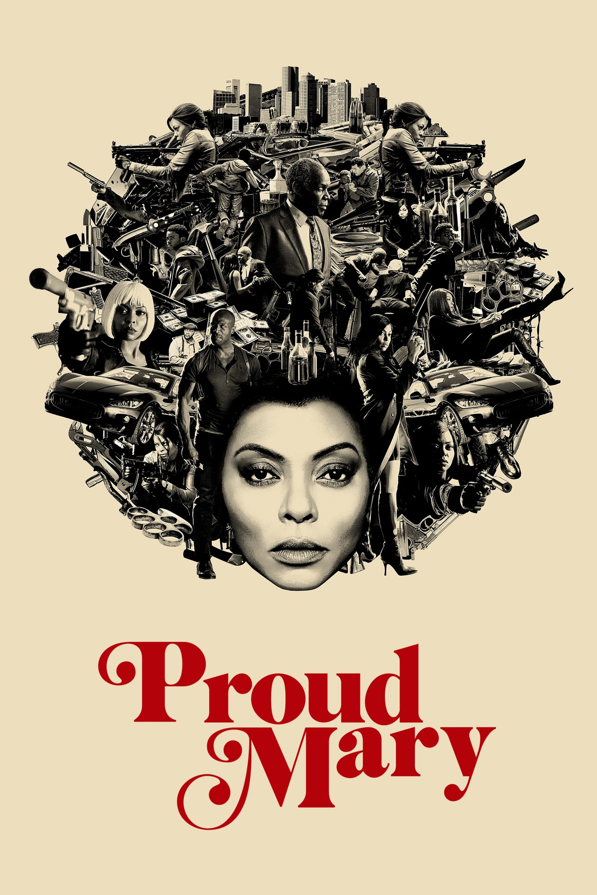 Póster Proud Mary