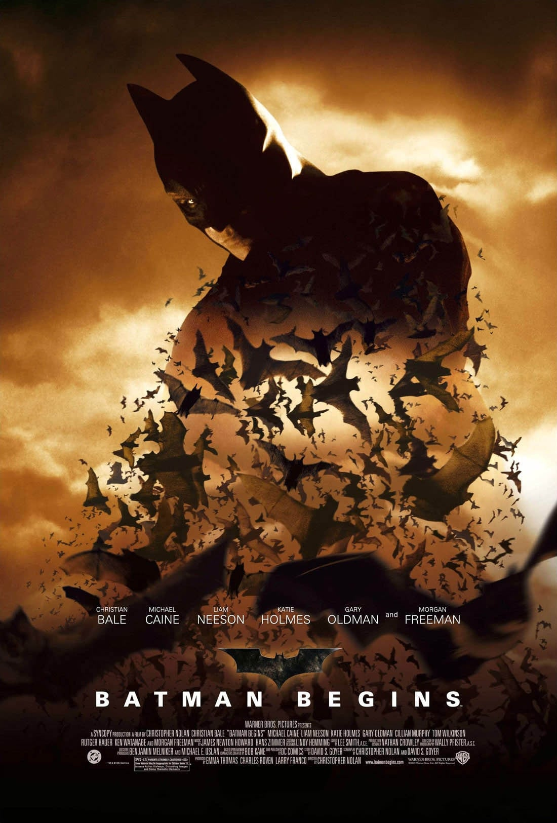 Póster Batman Begins