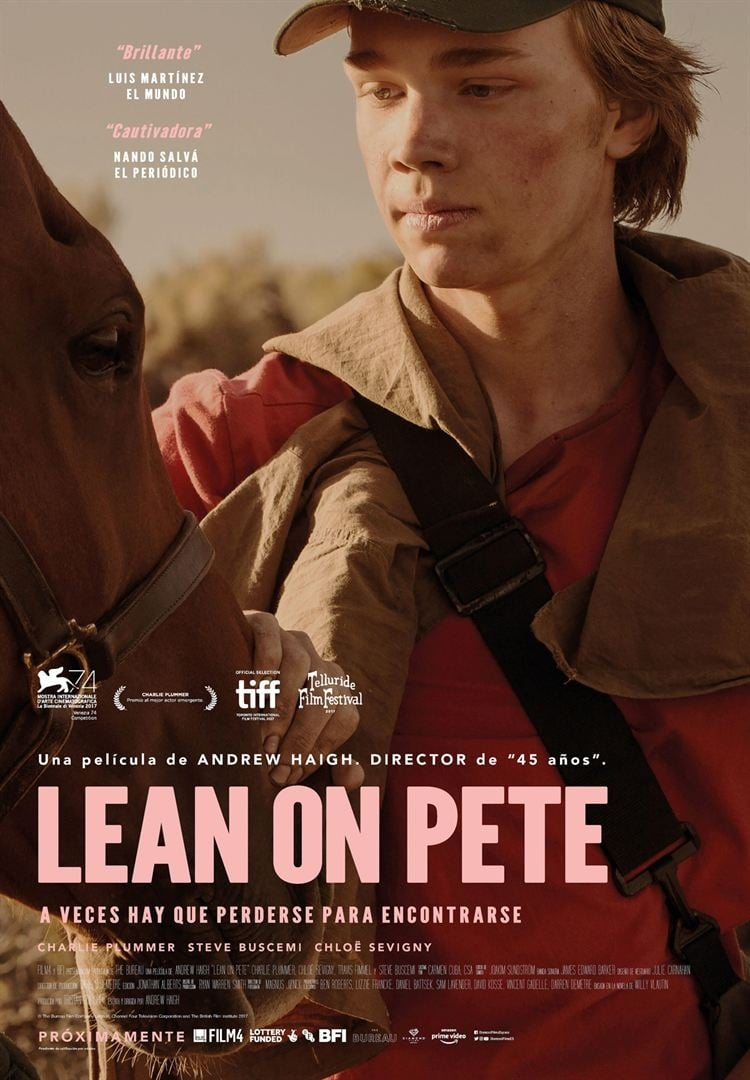 Póster Lean on Pete