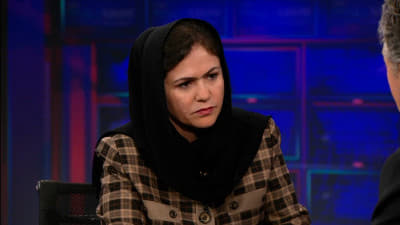 The Daily Show with Trevor Noah Season 18 :Episode 61  Fawzia Koofi