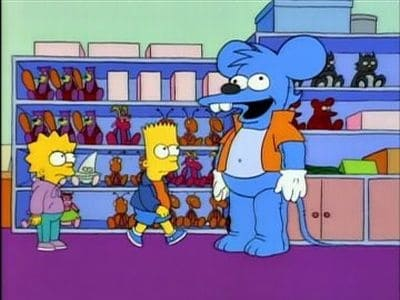 The Simpsons Season 6 :Episode 4  Itchy & Scratchy Land