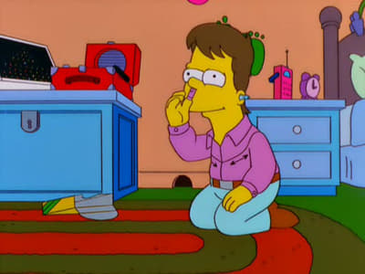 Die Simpsons Season 12 :Episode 9  Der berüchtigte Kleinhirn-Malstift