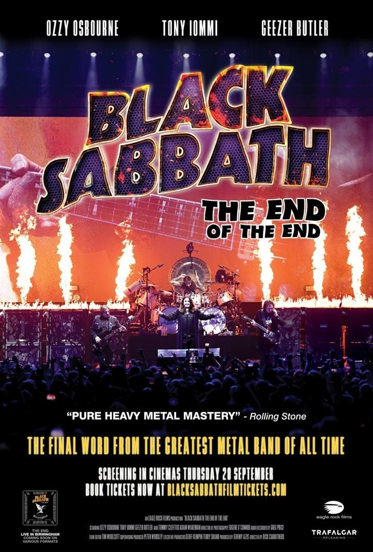 image for Black Sabbath: The End of the End