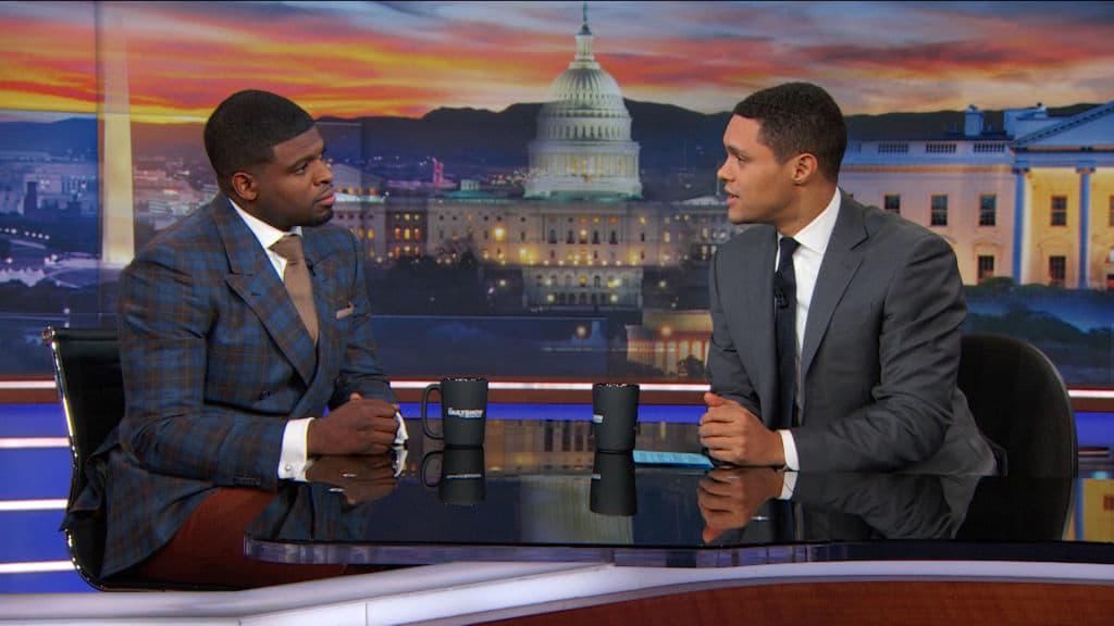 The Daily Show with Trevor Noah Season 23 :Episode 50  P.K. Subban