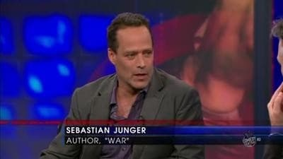 The Daily Show with Trevor Noah Season 15 :Episode 66  Sebastian Junger
