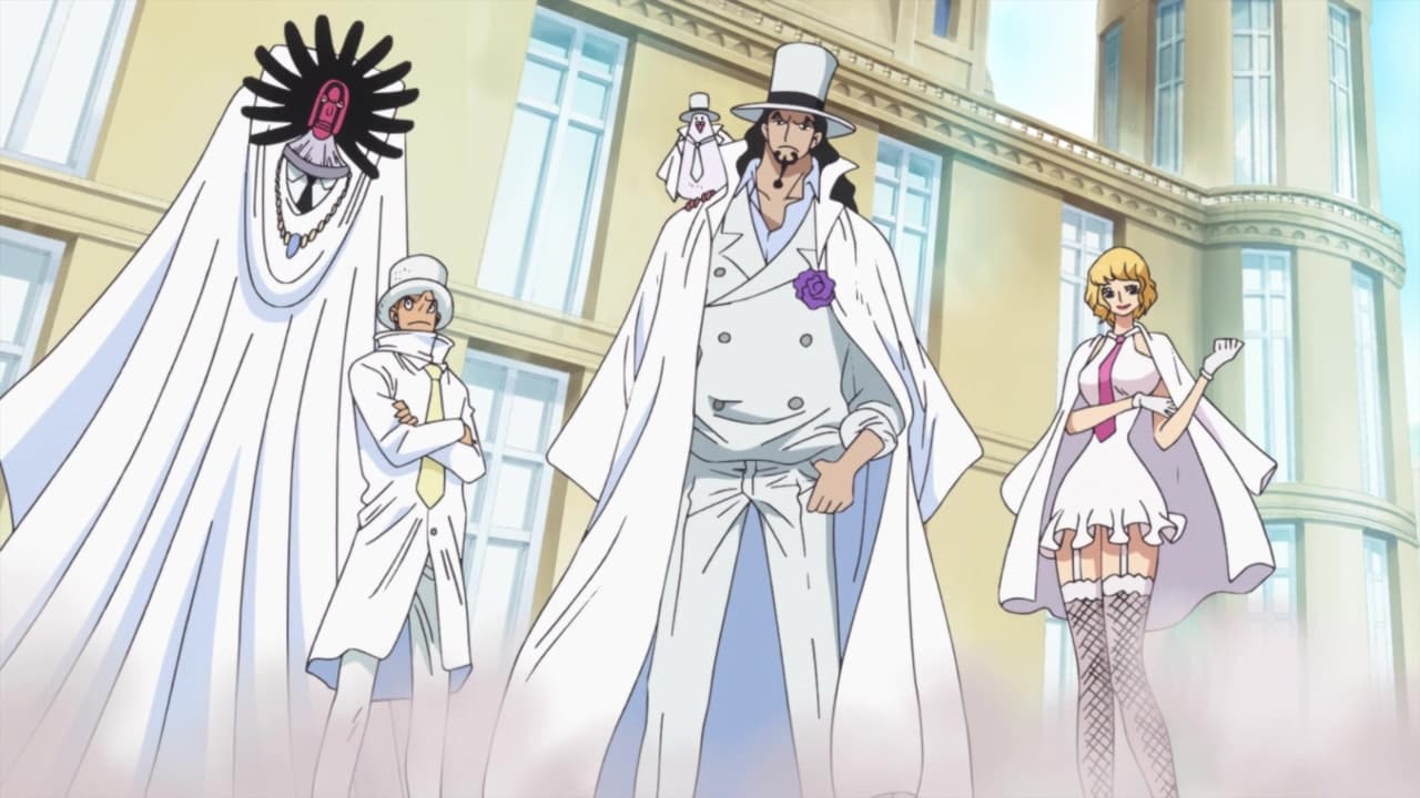 One Piece Season 20 :Episode 886  The Holyland in Tumult! The Targeted Princess Shirahoshi!