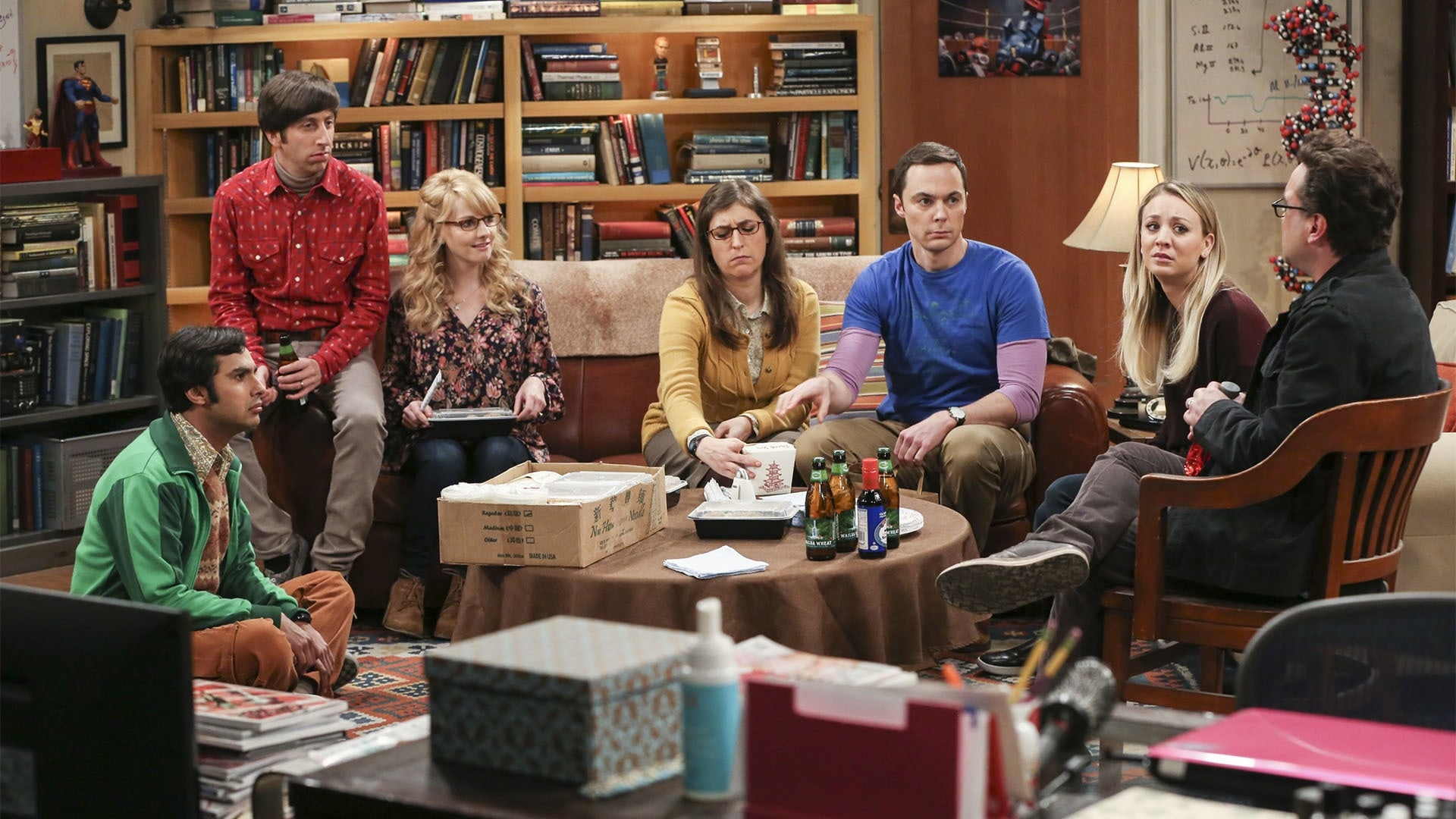 The Big Bang Theory Season 10 : The Emotion Detection Automation