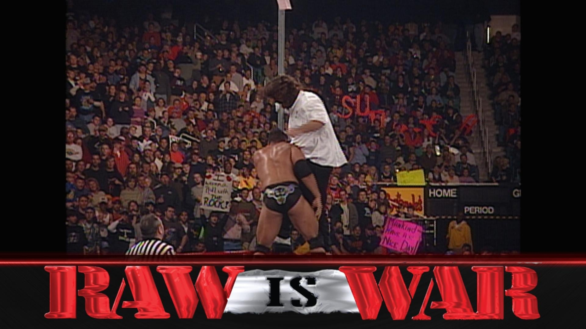 WWE Raw Season 7 :Episode 52  RAW is WAR 344