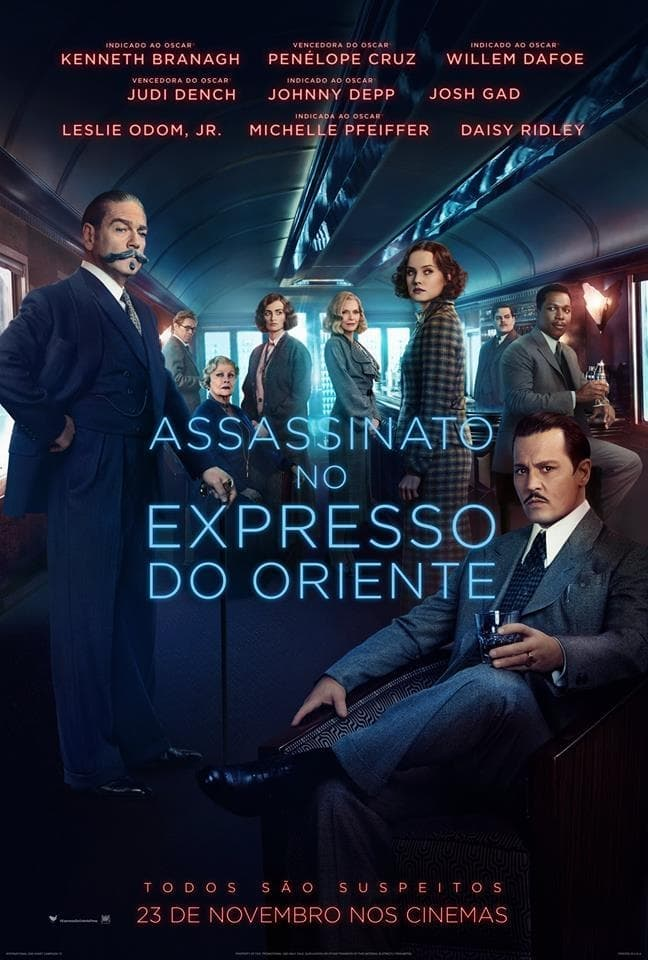 Assassinato no Expresso do Oriente Torrent (2018) Dual Áudio BluRay 1080p Download